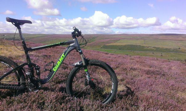 IMAG0396.jpg - UK - Northumberland - Sandstone Way - Mountain Biking
