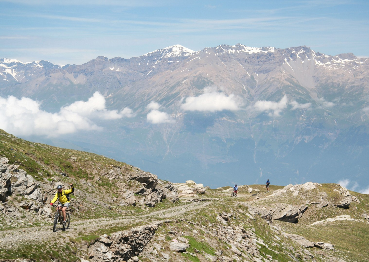 vanoise-national-park-guided-mountain-bike-holiday-italy-and-france-alpine-adventure.JPG - Italy and France - Alpine Adventure - Mountain Biking