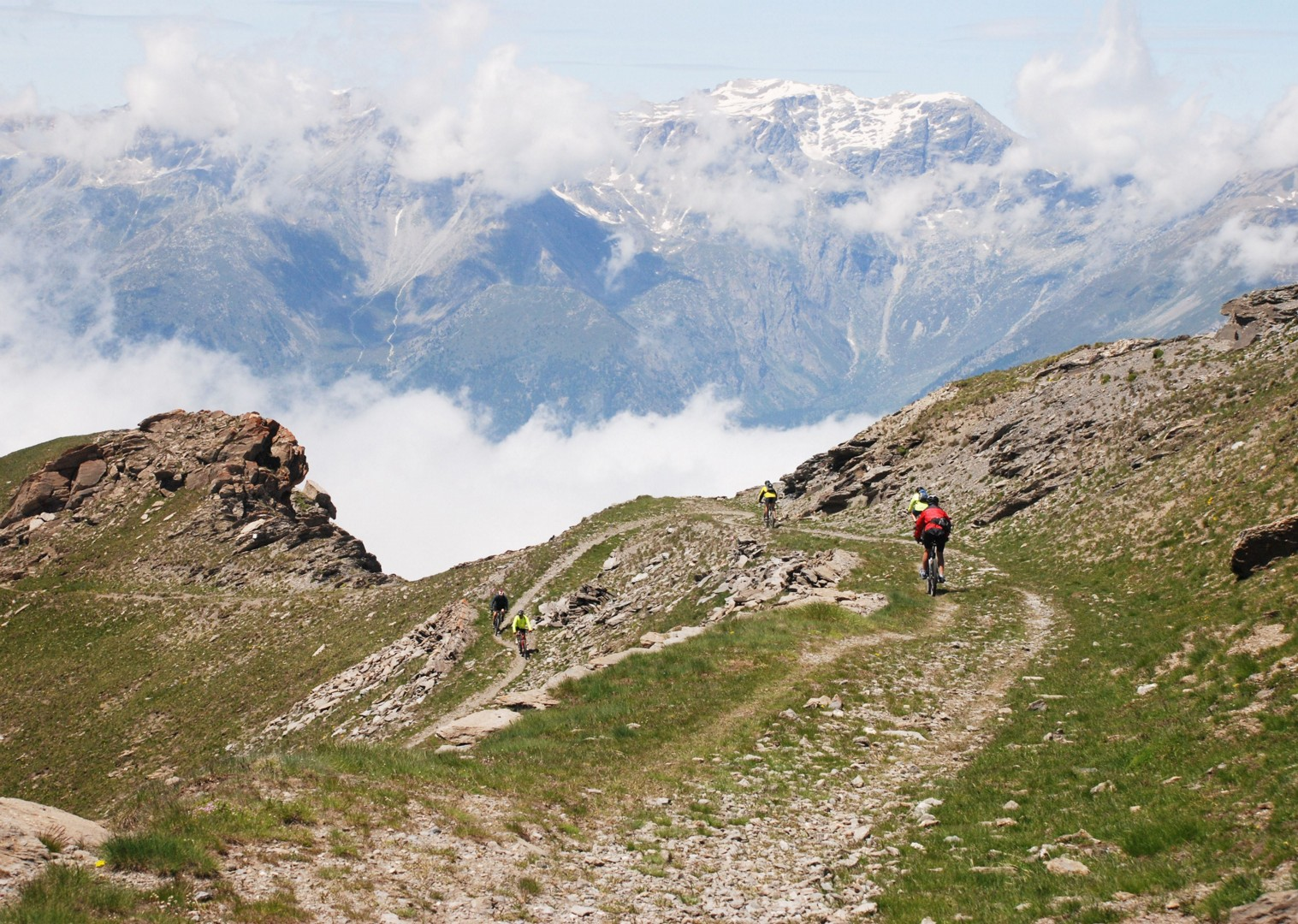 aussois-italy-and-france-alpine-adventure-guided-mountain-bike-holiday.JPG - Italy and France - Alpine Adventure - Guided Mountain Bike Holiday - Mountain Biking