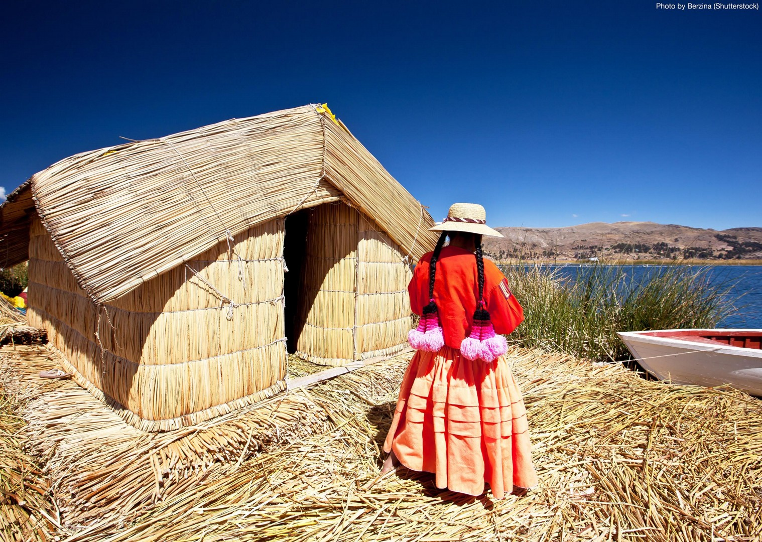 uros-floating-islands-guided-mountain-bike-holiday-in-peru.jpg - Peru - Andean Journey - Guided Mountain Bike Holiday - Mountain Biking