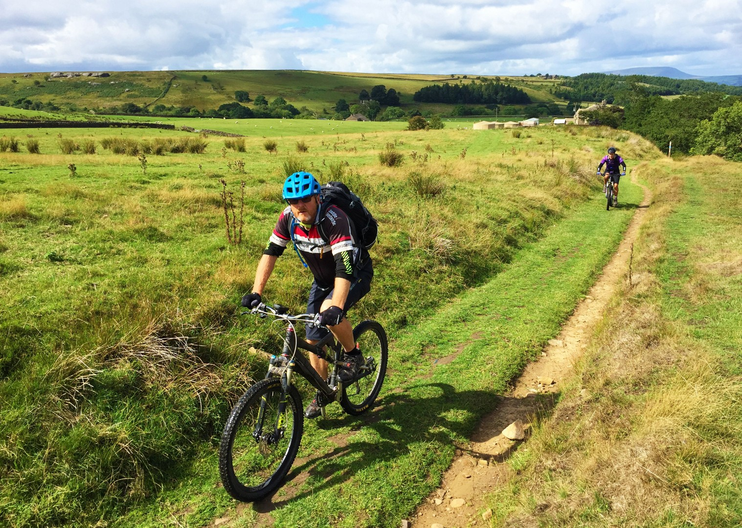 mtb-uk-pennine-bridleway-skedaddle.JPG - UK - Pennine Bridleway - Guided Mountain Bike Weekend - Mountain Biking