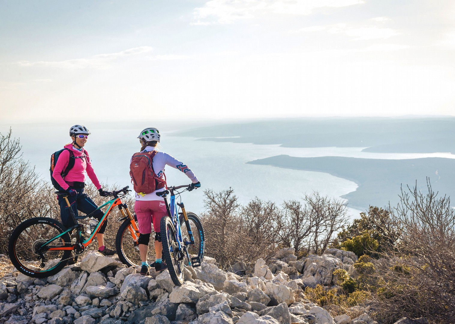rabac-biking-in-croatia-guided-holiday-skedaddle.jpg - NEW! Croatia - Terra Magica - Mountain Biking