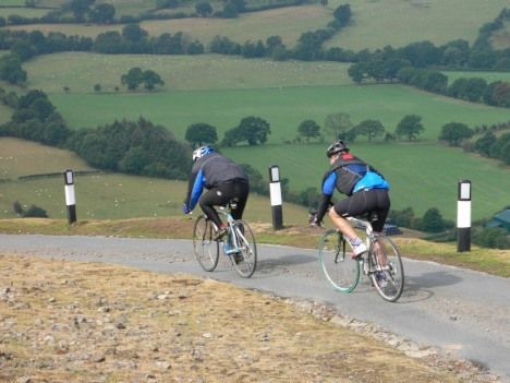 UK - South Shropshire - Road Cycling