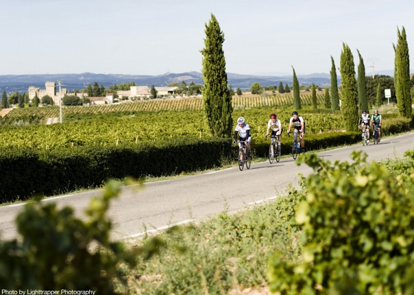 guided-road-cycling-through-french-countryside.jpg - France - Provence - Le Ventoux a Velo - Guided Road Cycling Holiday - Road Cycling