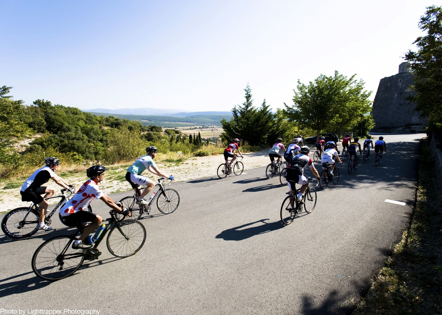 group-road-coastal-cycling-provence-france.jpg - France - Provence - Le Ventoux a Velo - Guided Road Cycling Holiday - Road Cycling