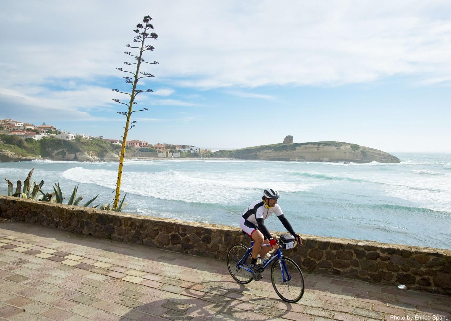 Road-Cycling-Holiday-Italy-Sardinia-Coastal-Explorer-white-beaches.jpg - Italy - Sardinia - Coastal Explorer - Road Cycling