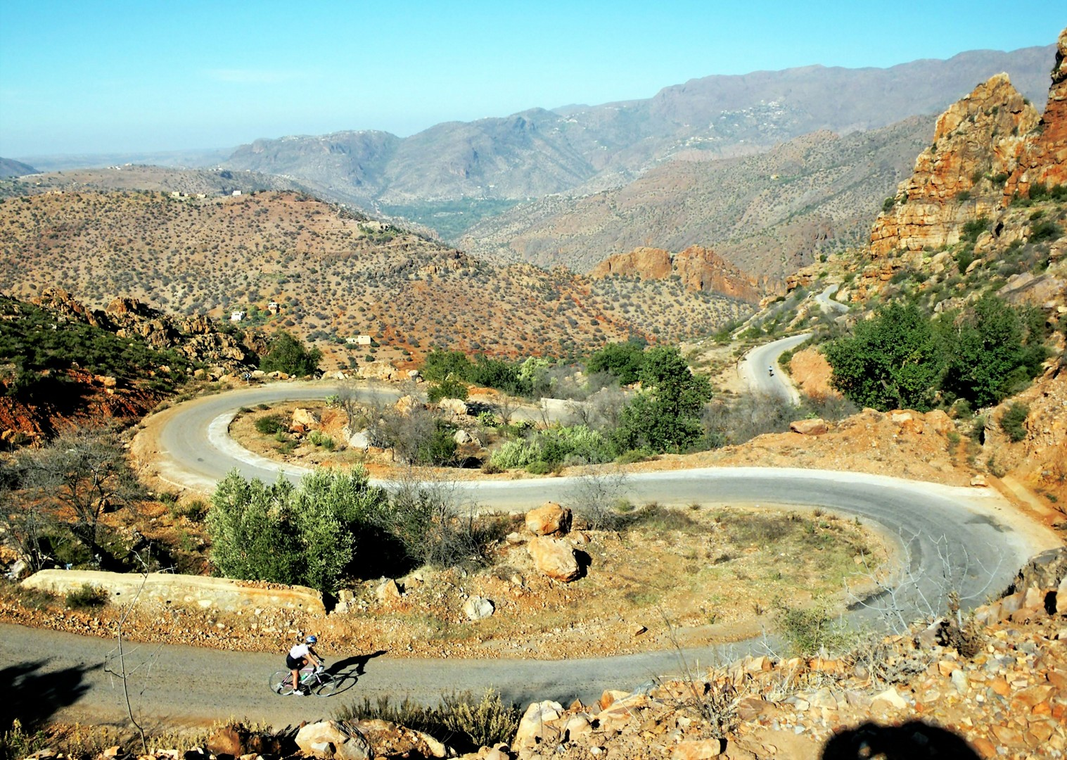 guided-road-cycling-holiday-road-atlas-morocco-douar-samra.jpg - Morocco - Road Atlas - Road Cycling