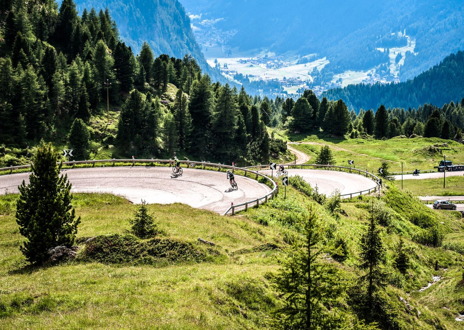 climb-the-zoncalan-italian-dolomites-guided-road-cycling.jpg - Italy - Alps and Dolomites - Giants of the Giro - Guided Road Cycling Holiday - Road Cycling