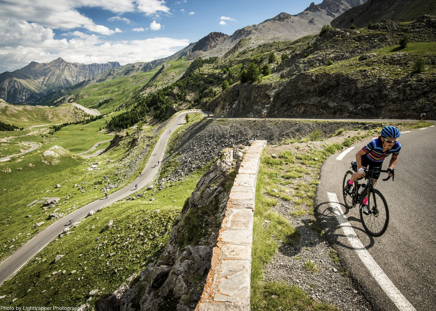 smooth-terrain-french-alps-group-road-cycling-holiday.jpg - France - Raid Alpine - Guided Road Cycling Holiday - Road Cycling