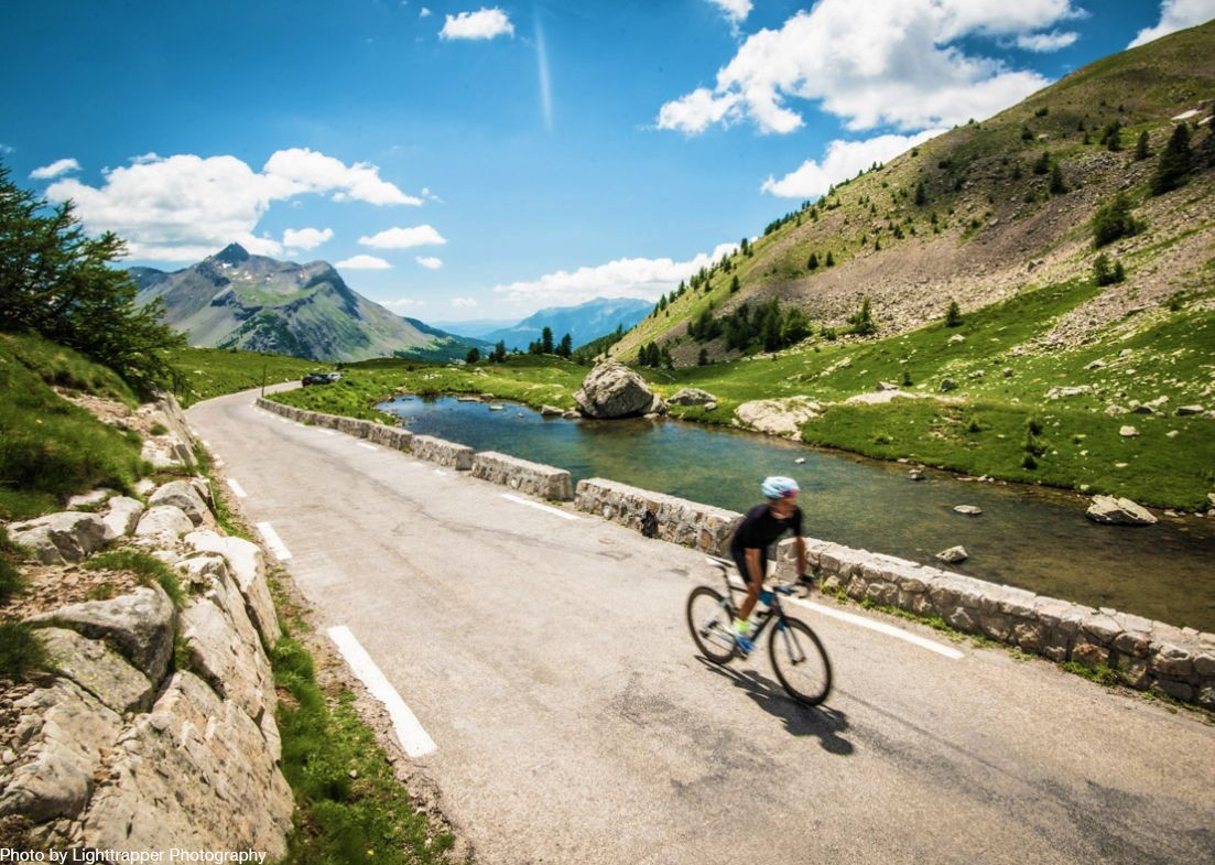 smooth-flat-alp-track-france-raid-alpine-road-cycling-holiday.jpg - France - Raid Alpine - Guided Road Cycling Holiday - Road Cycling