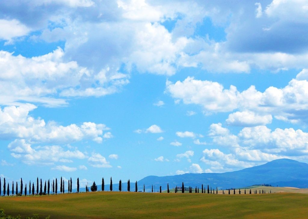 scenery-cycling-in-tuscany-italy.jpg - Italy - Tuscany Tourer - Guided Road Cycling Holiday - Road Cycling