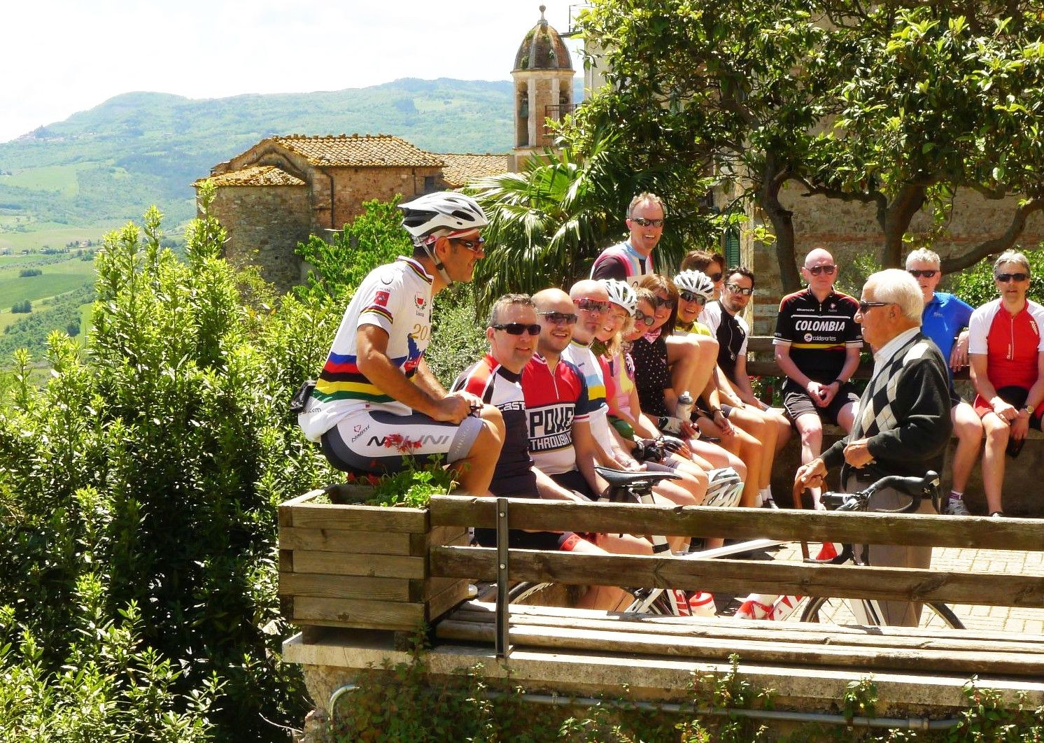 guided-group-cycling-holiday-tuscany-italy.jpg - Italy - Tuscany Tourer - Guided Road Cycling Holiday - Road Cycling