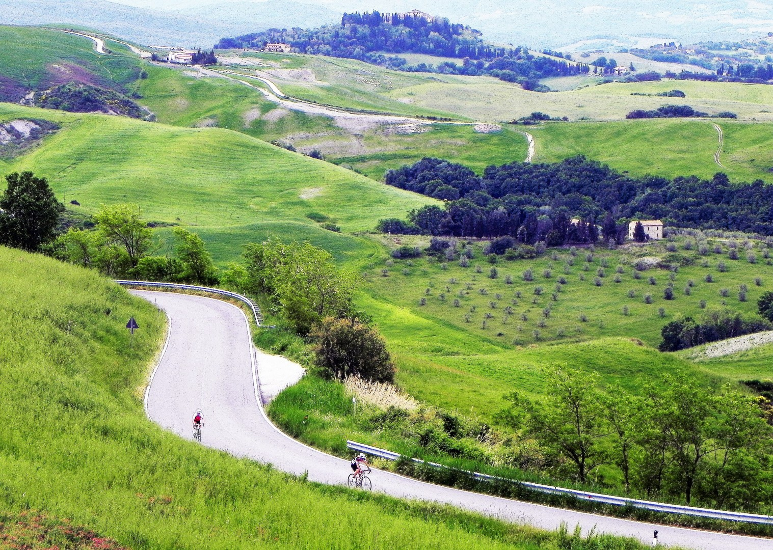 landscapes-italy-tuscany-road-cycling.jpg - Italy - Tuscany Tourer - Guided Road Cycling Holiday - Road Cycling