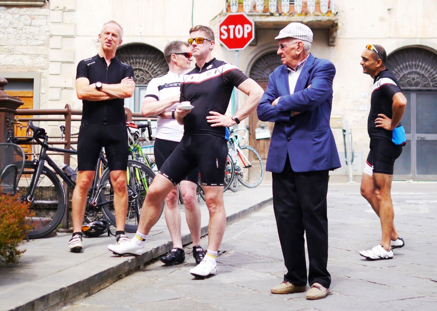 team-guided-cycling-holiday-tuscany-italy.jpg - Italy - Tuscany Tourer - Guided Road Cycling Holiday - Road Cycling