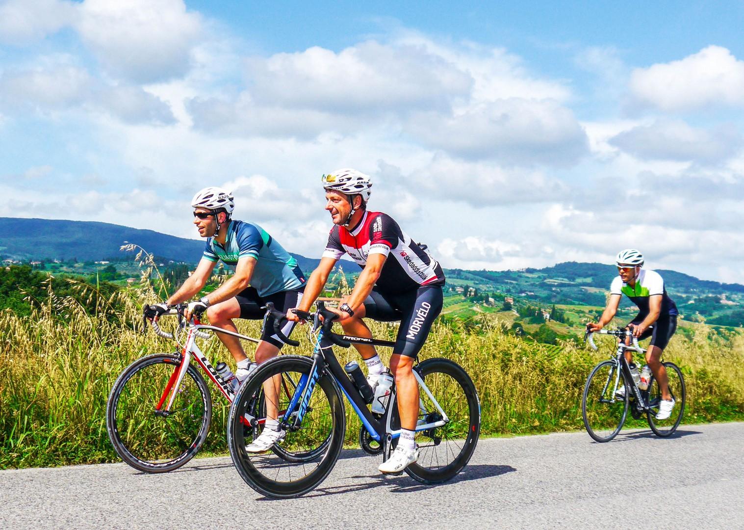 Davids grupetto.jpg - Italy - Tuscany Tourer - Road Cycling