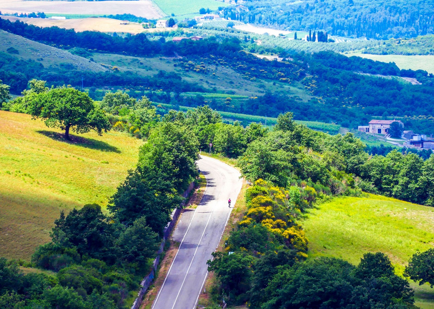 Solo.jpg - Italy - Tuscany - Giro della Toscana - Guided Road Cycling Holiday - Road Cycling
