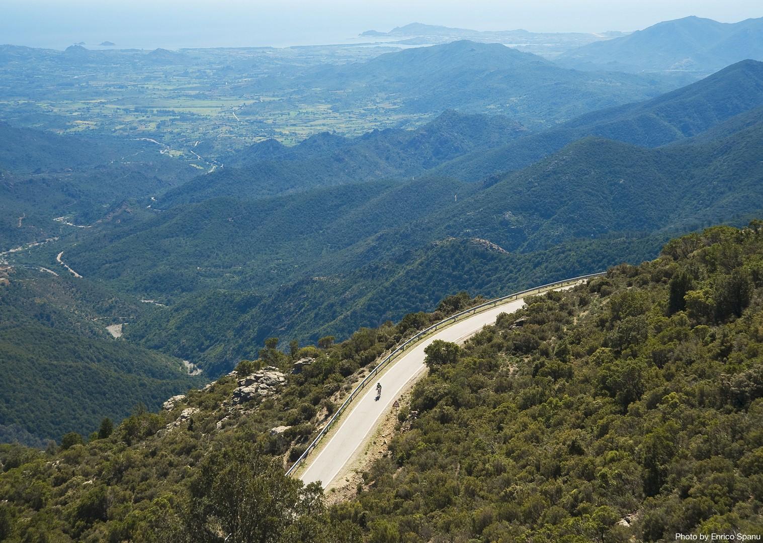 Road-Cycling-Holiday-Italy-Sardinia-Sardinian-Mountains-Mountain-roads.jpg - Italy - Sardinia - Sardinian Mountains - Guided Road Cycling Holiday - Road Cycling