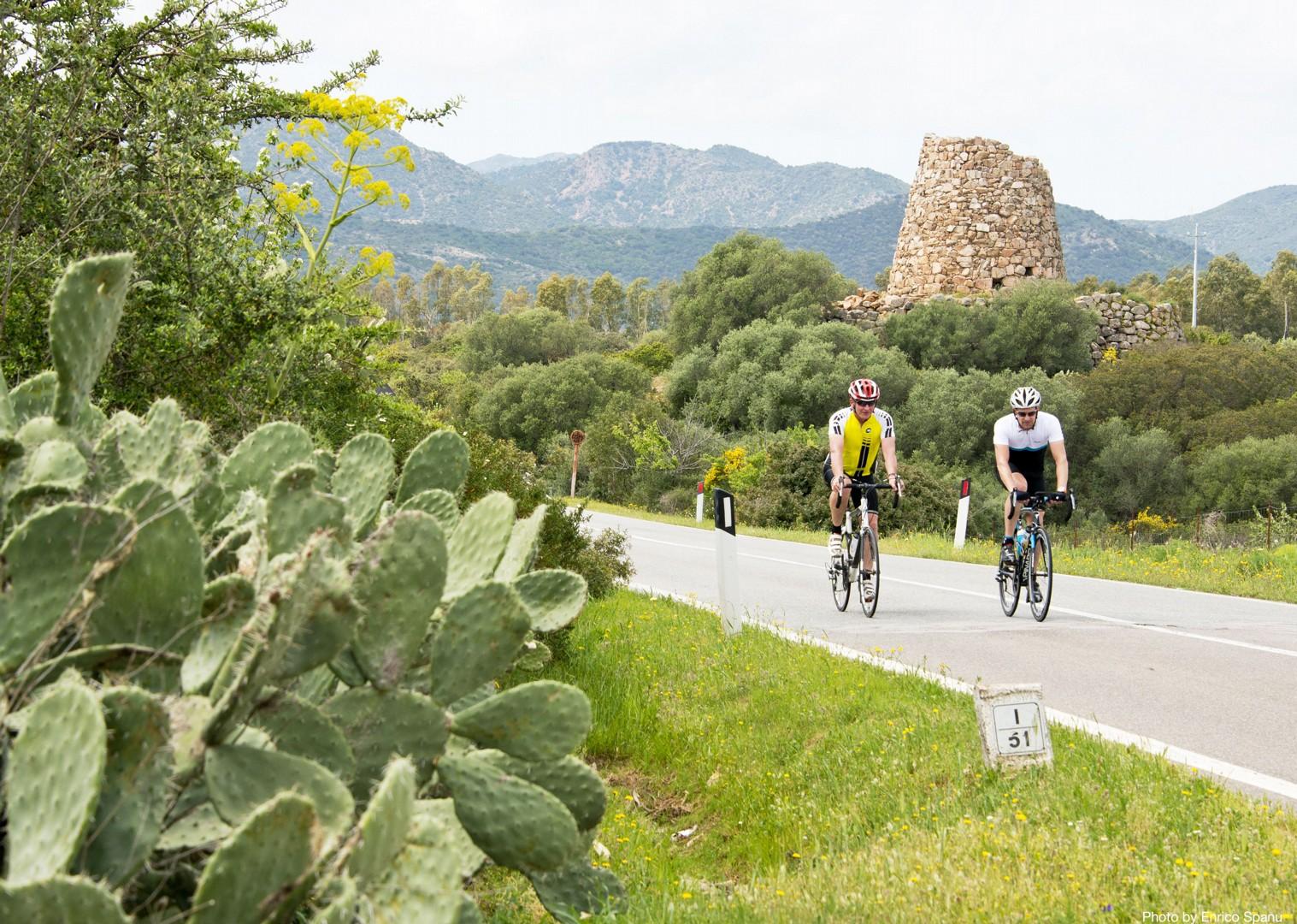 Sardinian-Cycling-Holiday-Road-Sardinian-Mountains.jpg - Italy - Sardinia - Sardinian Mountains - Guided Road Cycling Holiday - Road Cycling