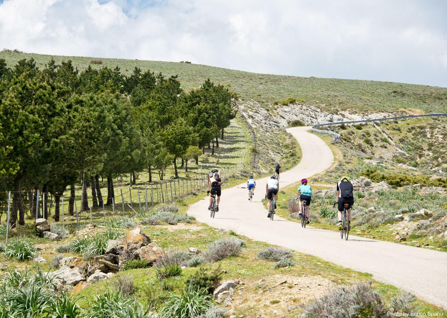 Sardinian-Cycling-Holiday-Road-Sardinian-Mountains-Tacchi-dOgliastra.jpg - Italy - Sardinia - Sardinian Mountains - Guided Road Cycling Holiday - Road Cycling