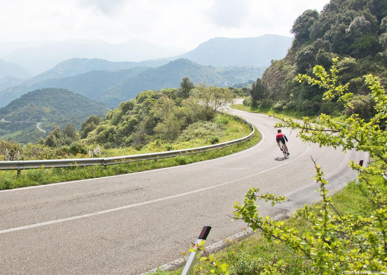 Road-Cycling-Holiday-Italy-Sardinia-Sardinian-Mountains.jpg - Italy - Sardinia - Sardinian Mountains - Guided Road Cycling Holiday - Road Cycling