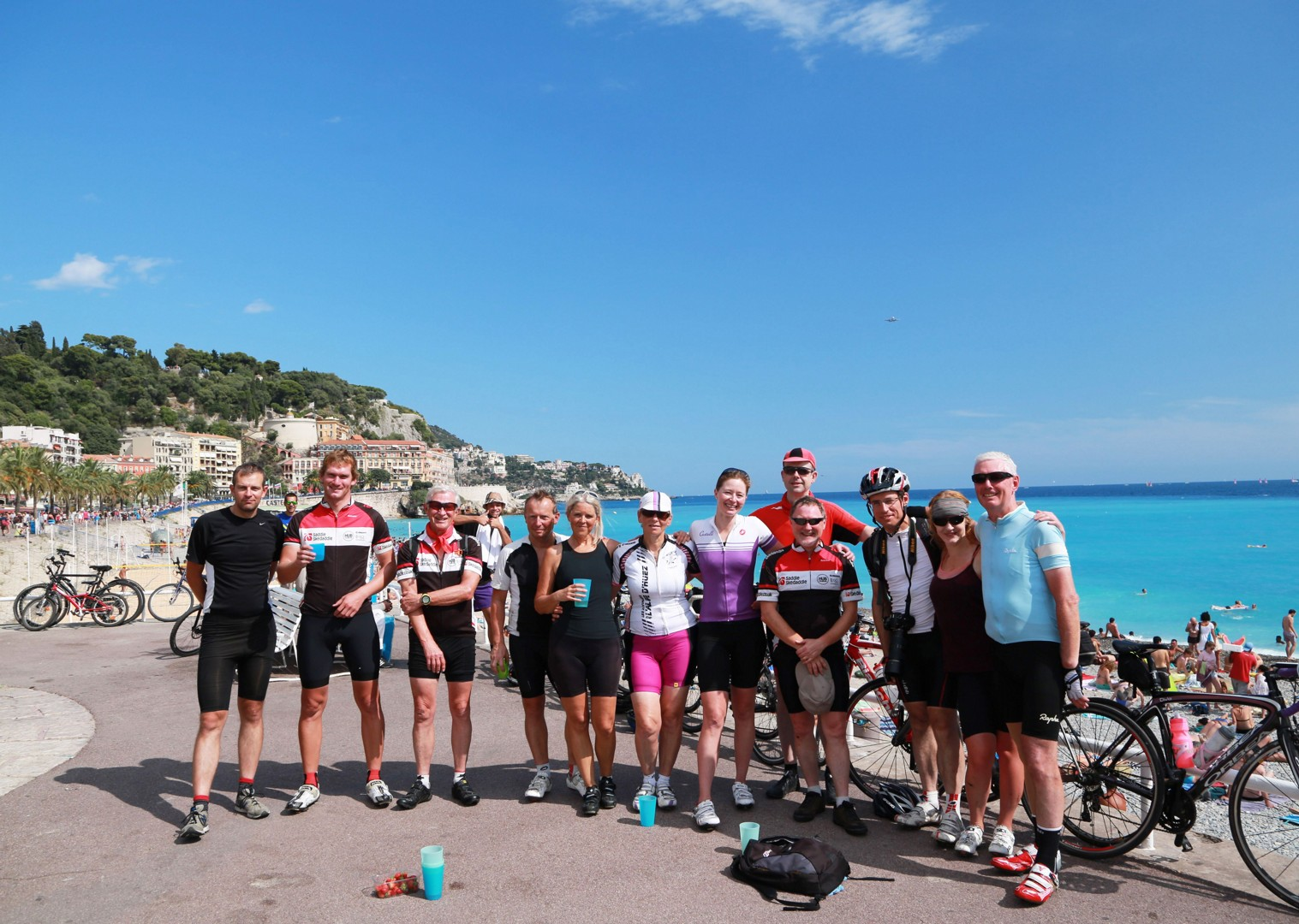 group-cycling-france-holiday.jpg - France - St Malo to Nice Classic (15 days) - Guided Road Cycling Holiday - Road Cycling