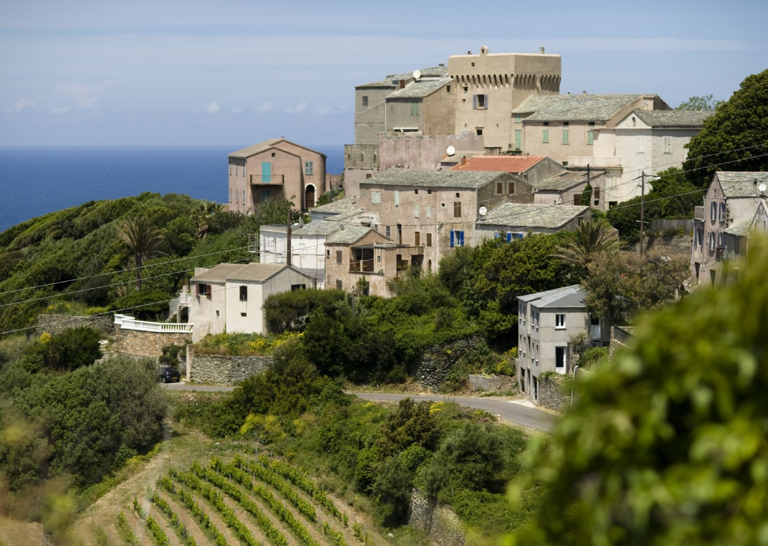 guided-road-cycling-holiday-in-france-corsica-old-city-views.jpg - France - Corsica - Southern Secrets - Guided Road Cycling Holiday - Road Cycling