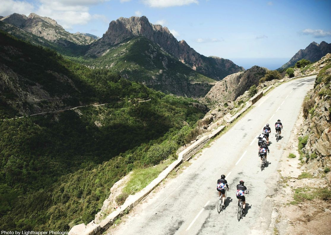 guided-road-cycling-holiday-in-france-corsica-southern-secrets-group-cycling.jpg - France - Corsica - Southern Secrets - Guided Road Cycling Holiday - Road Cycling