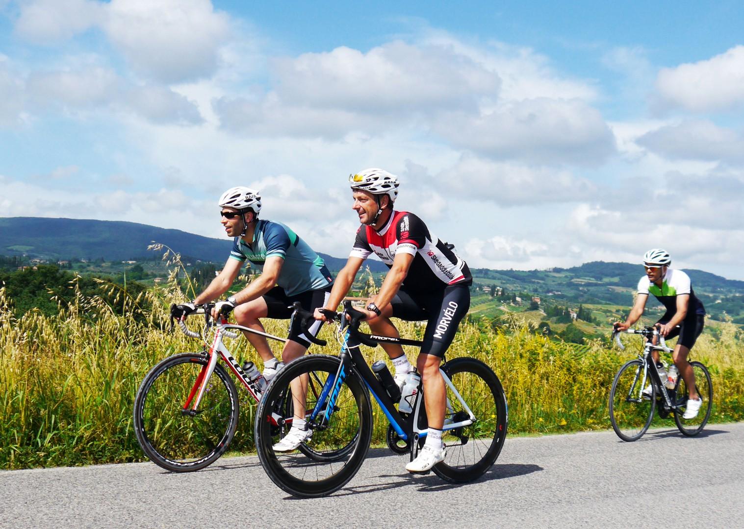 cycling-italy-tuscany-road-self-guided.jpg - Italy - Tuscany Tourer - Self Guided Road Cycling Holiday - Road Cycling