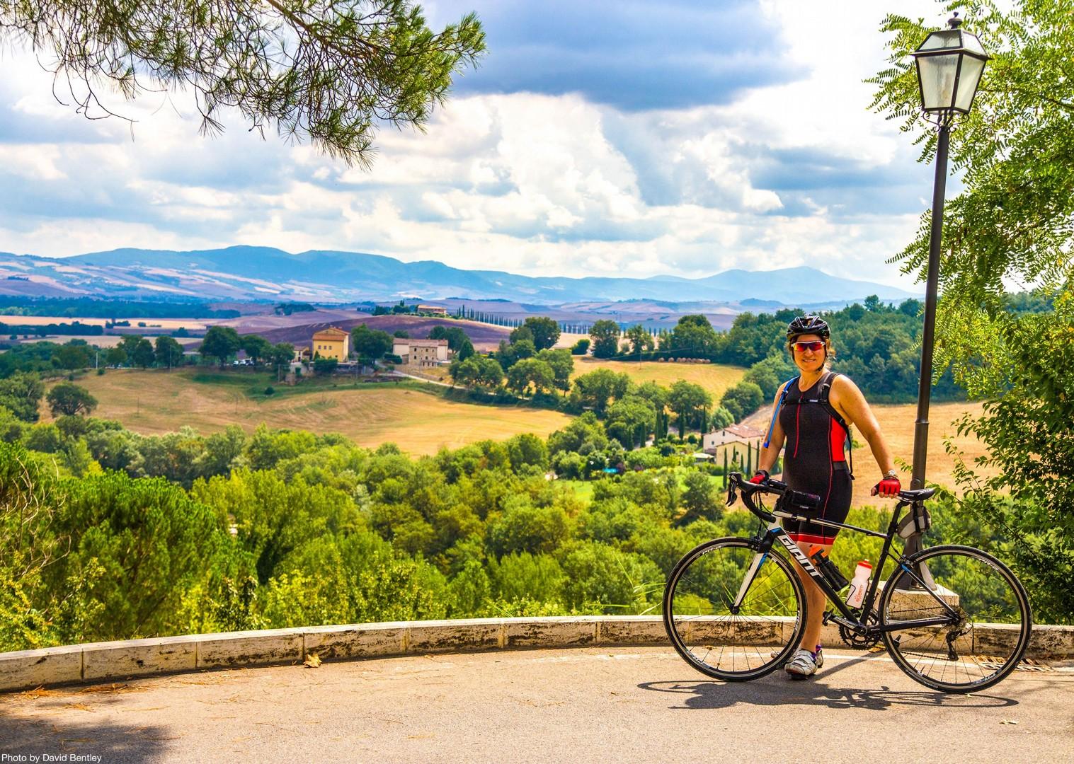 00105 Day 5 Bagno Vignoni.jpg - Italy - Tuscany - Giro della Toscana - Self-Guided Road Cycling Holiday - Road Cycling