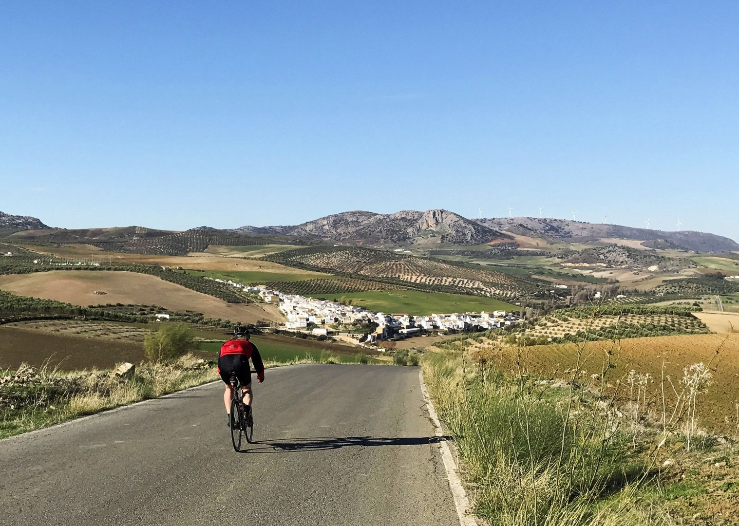 road-cycling-holiday-los-pueblos-blancos-andalucia-spain-Serrania-de-Ronda-white-villages.jpg - Southern Spain - Andalucia - Los Pueblos Blancos - Self-Guided Road Cycling Holiday - Road Cycling