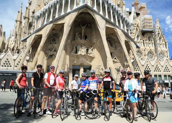 Road-Cycling-Holiday-Northern-Spain-Bilbao-to-Barcelona-Guided-Sagrada-Familia - Northern Spain - Bilbao to Barcelona - Road Cycling