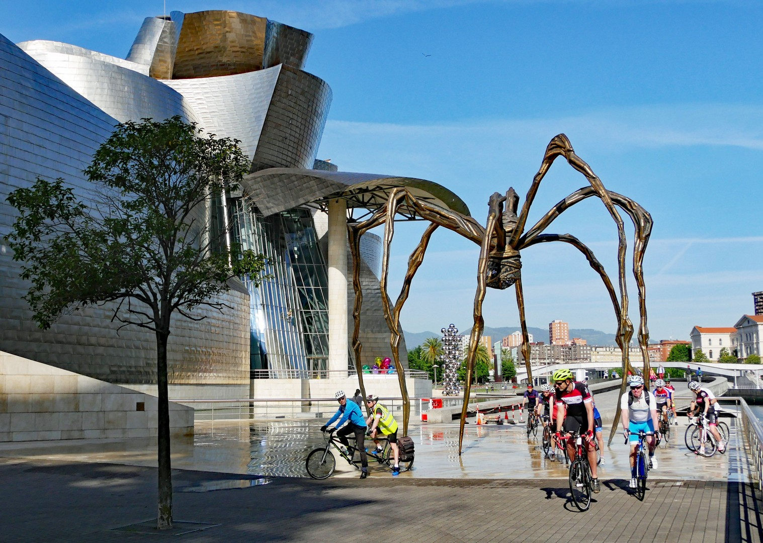 Road-Cycling-Holiday-Northern-Spain-Bilbao-to-Barcelona-Guided-MAMAN-Guggenheim-Museum - Northern Spain - Bilbao to Barcelona - Guided Road Cycling Holiday - Road Cycling