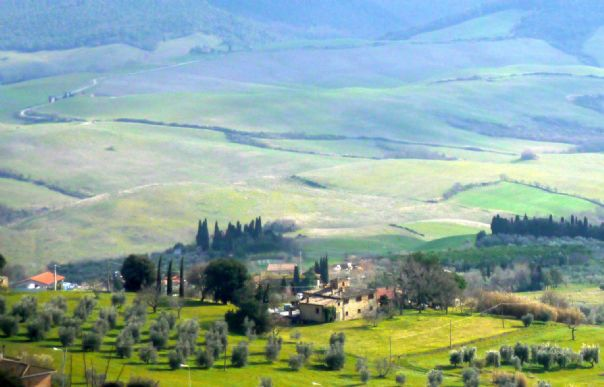 Tuscan Hills4.jpg - Italy - Grand Traverse - North to South (17 days) - Guided Road Cycling Holiday - Road Cycling
