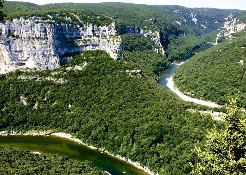ardeche-carcassonne-gorge-landscape.jpg - France - Ardeche to Carcassonne - Guided Road Cycling Holiday - Road Cycling