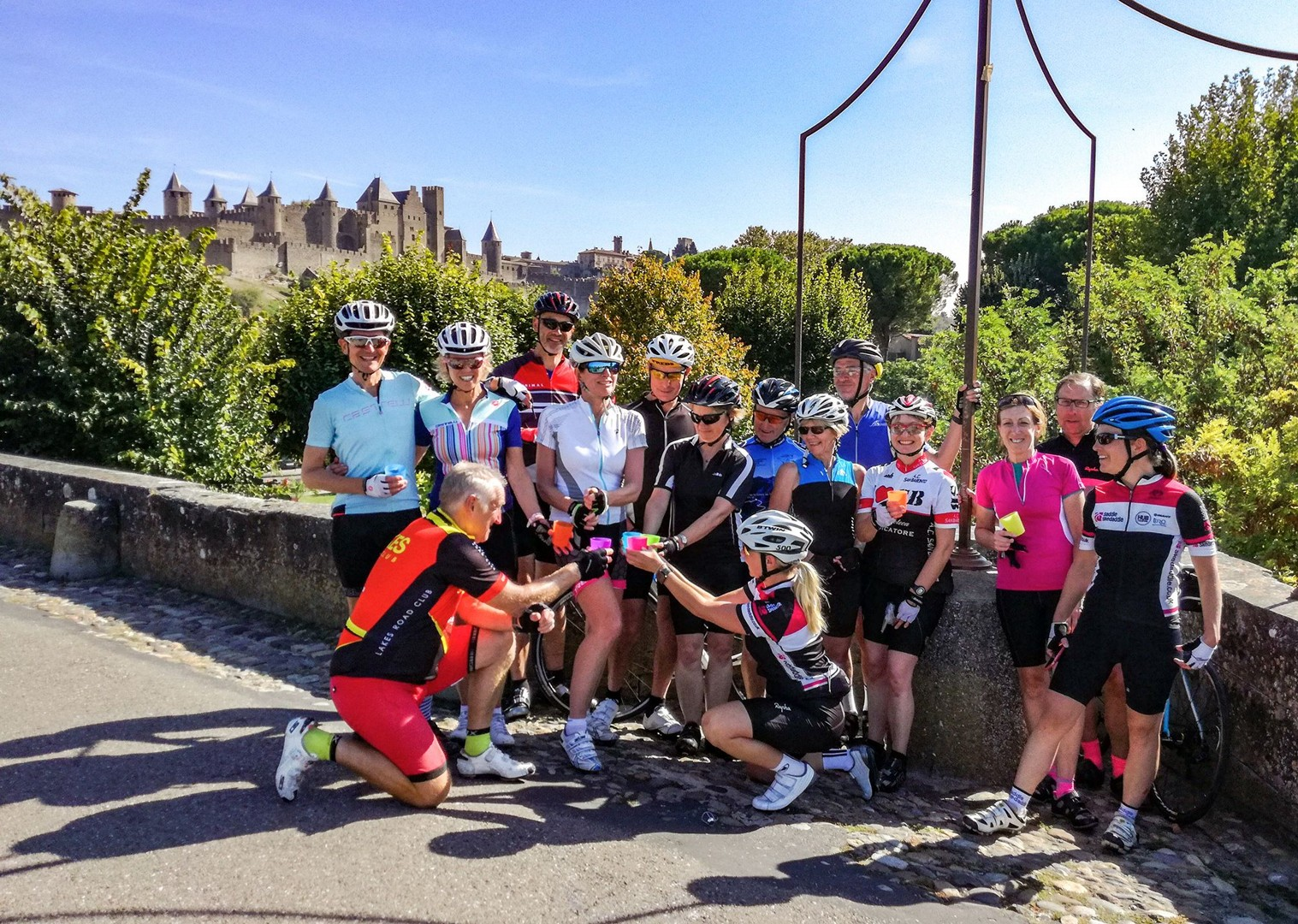group-cycling-holiday-in-france-guided-road-tour-ardeche-to-carcassonne.jpg - France - Ardeche to Carcassonne - Guided Road Cycling Holiday - Road Cycling