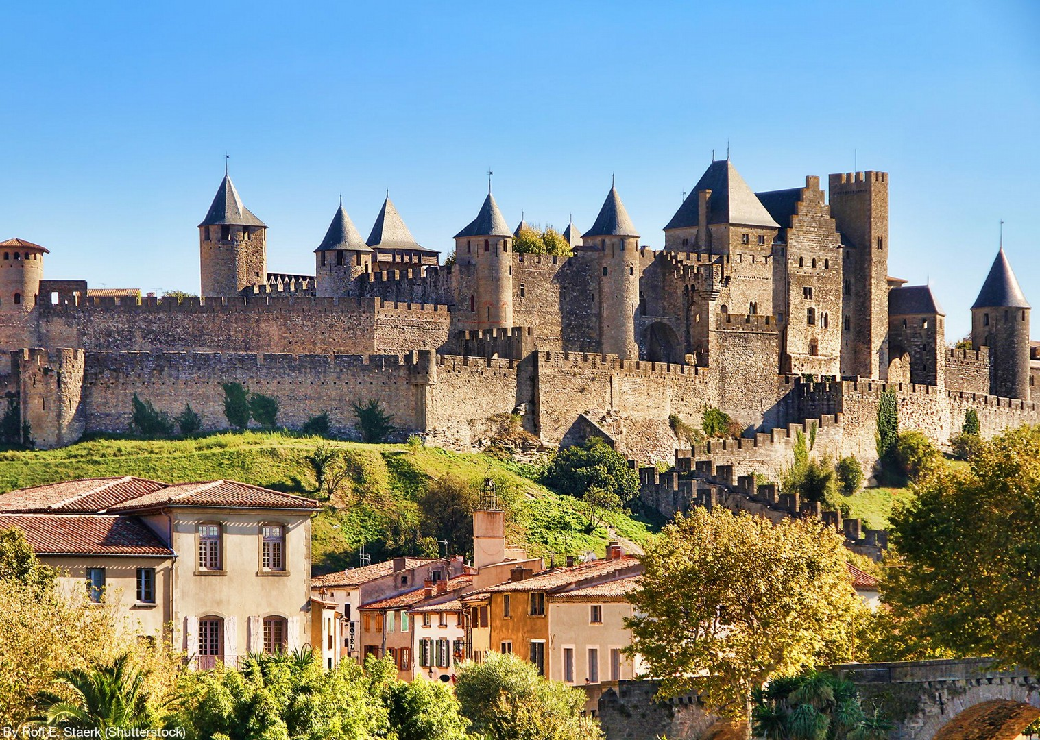 carcassonne-guided-road-cycling-holiday-saddle-skedaddle-france.jpg - France - Ardeche to Carcassonne - Guided Road Cycling Holiday - Road Cycling