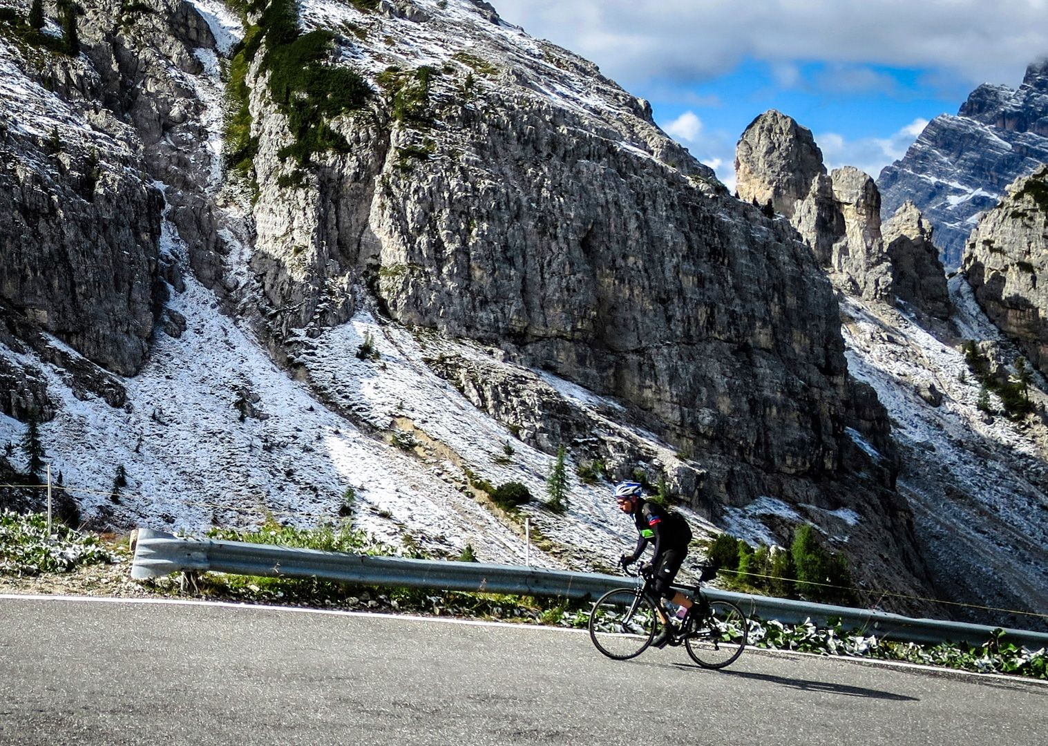 the-tres-cime-road-cycling-col-dolomites.jpg - Italy - Raid Dolomiti - Guided Road Cycling Holiday - Road Cycling