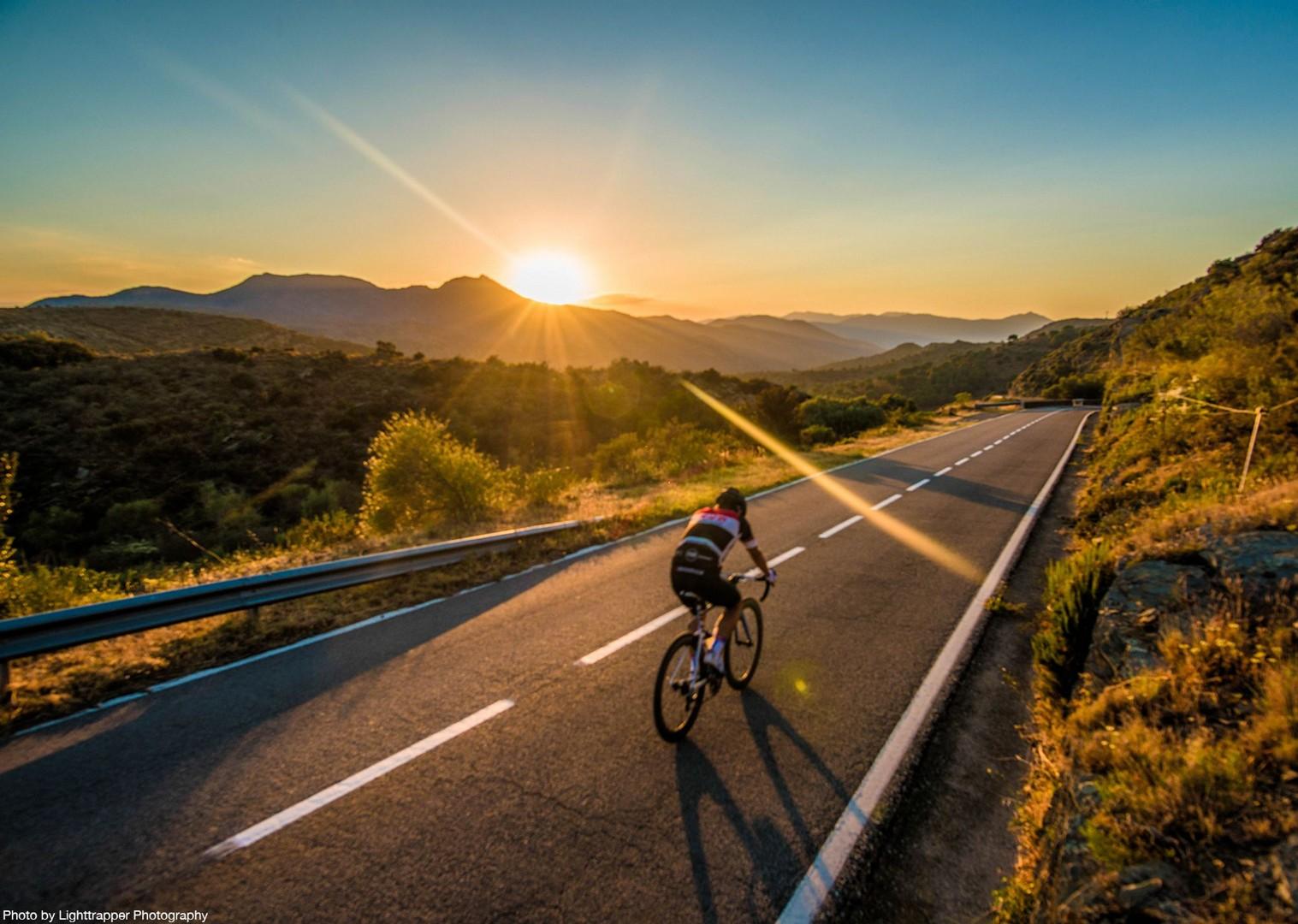 road-cycling-sunset-saddle-skedaddle-spain-coast-to-coast.jpg - NEW! Spain - Spanish Pyrenees Coast to Coast - Road Cycling