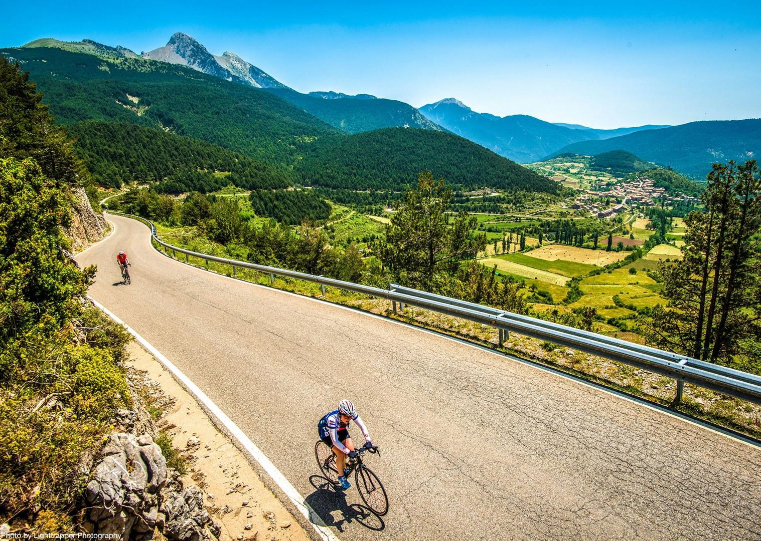 cycling-climb-road-spain-pyrenees-coast-to-coast.jpg - NEW! Spain - Spanish Pyrenees Coast to Coast - Road Cycling