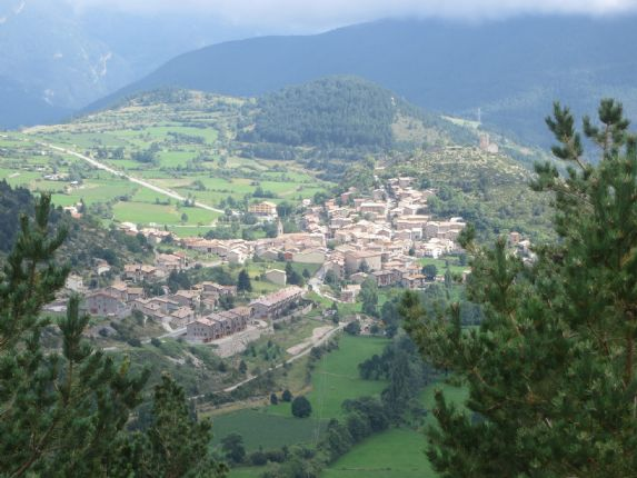 your destination.jpg - Northern Spain - Spanish Pyrenees - Guided Road Cycling Holiday - Road Cycling