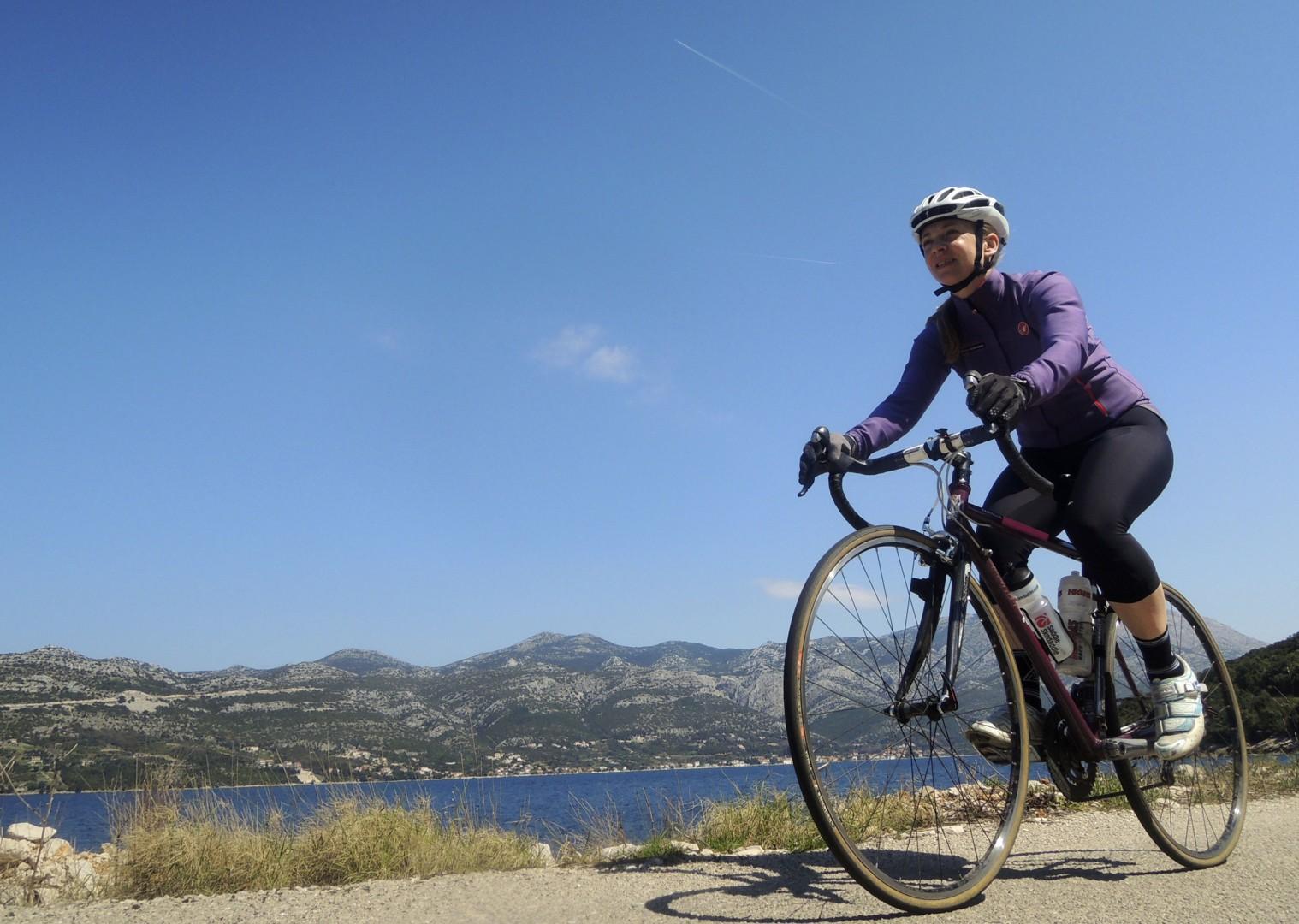 croatiaroad2.jpg - Slovenia and Croatia - Slovenian Alps to Dalmatian Coast - Guided Road Cycling Holiday - Road Cycling