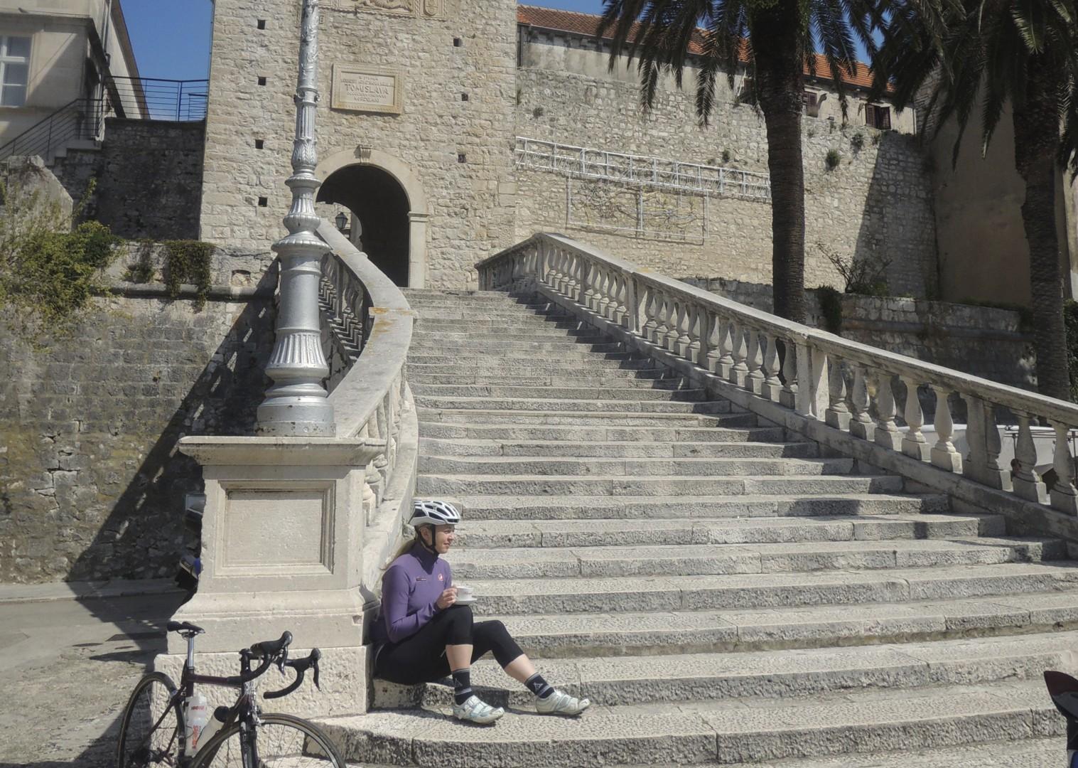 croatiaroad3.jpg - Slovenia and Croatia - Slovenian Alps to Dalmatian Coast - Guided Road Cycling Holiday - Road Cycling