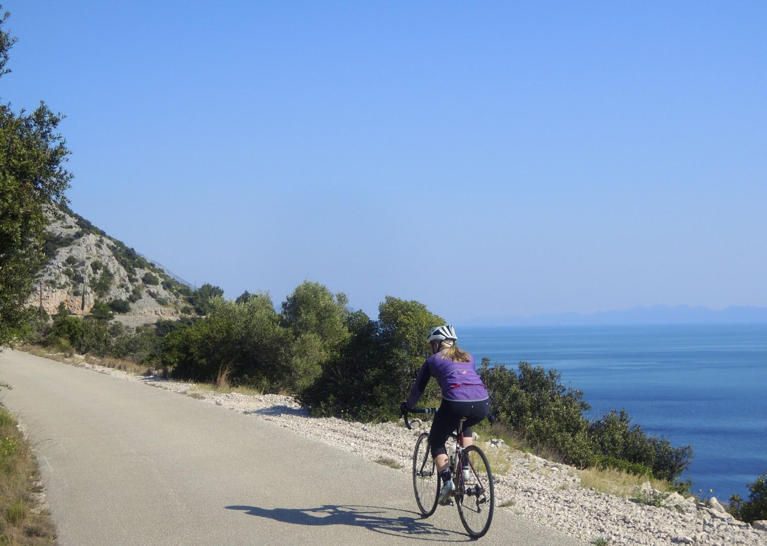 croatiaroad8.jpg - Slovenia and Croatia - Slovenian Alps to Dalmatian Coast - Guided Road Cycling Holiday - Road Cycling