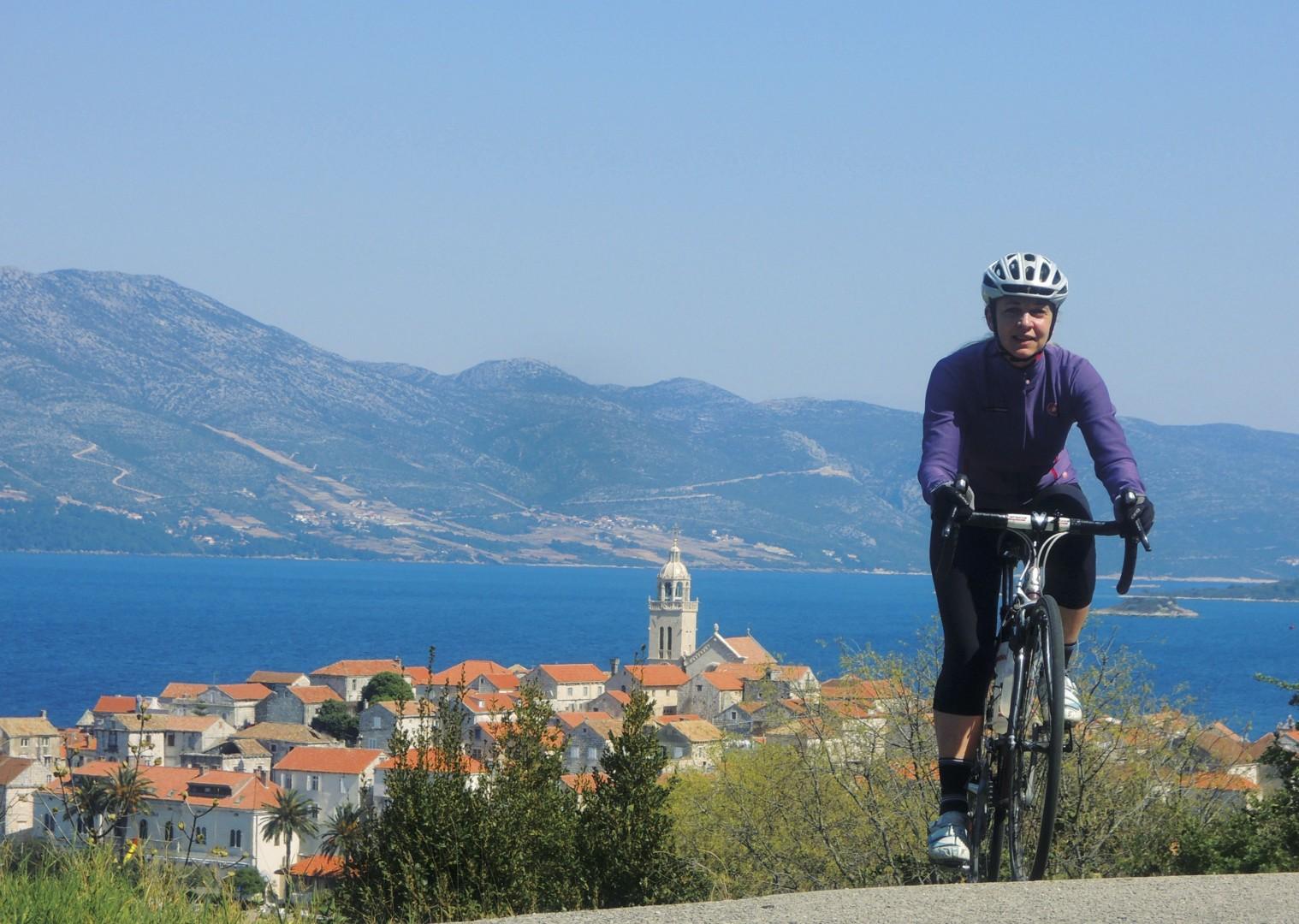croatiaroad9.jpg - Slovenia and Croatia - Slovenian Alps to Dalmatian Coast - Guided Road Cycling Holiday - Road Cycling