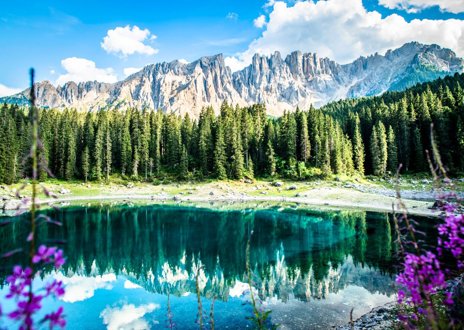 forests-lakes-and-mountains-of-italy-on-road-cycling-holiday.jpg - Italy - Italian Dolomites - Guided Road Cycling Holiday - Road Cycling