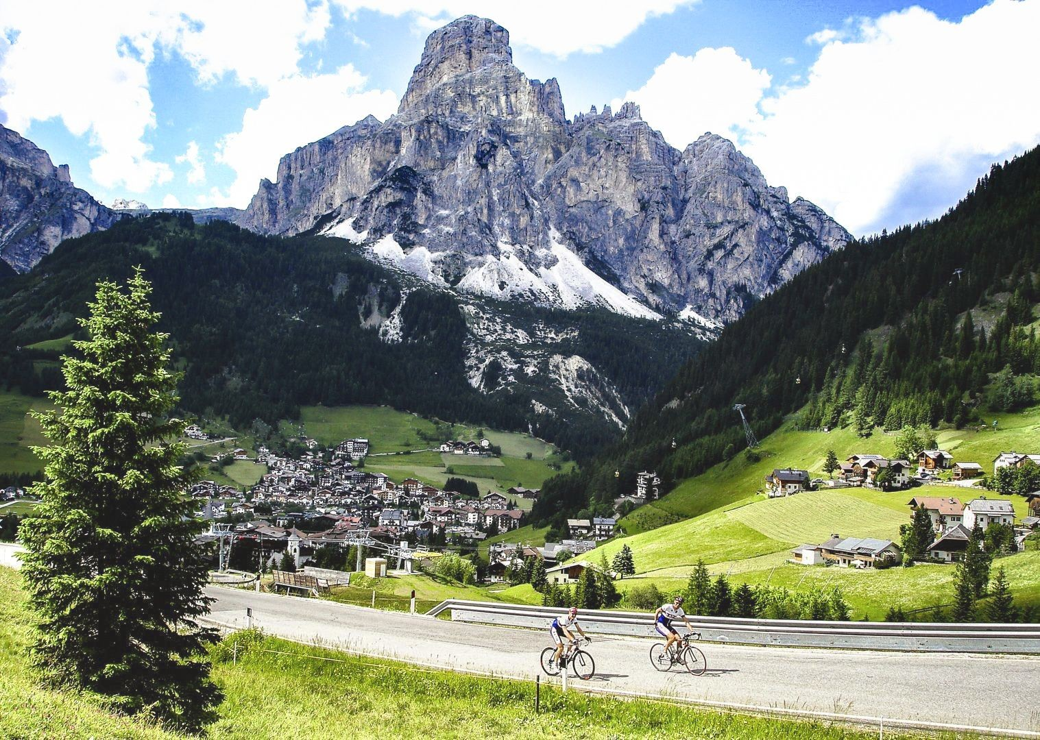mountain-dolomites-of-italy-by-road-bike.jpg - Italy - Italian Dolomites - Guided Road Cycling Holiday - Road Cycling
