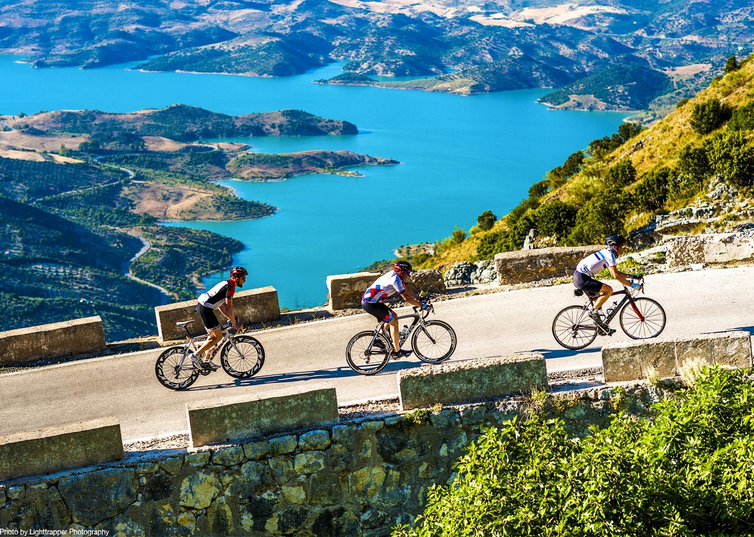 road-cycling-spain-puert-de-las-palomas-guided-cycling-tour.jpg - Southern Spain - Andalucia - Los Pueblos Blancos - Guided Road Cycling Holiday - Road Cycling