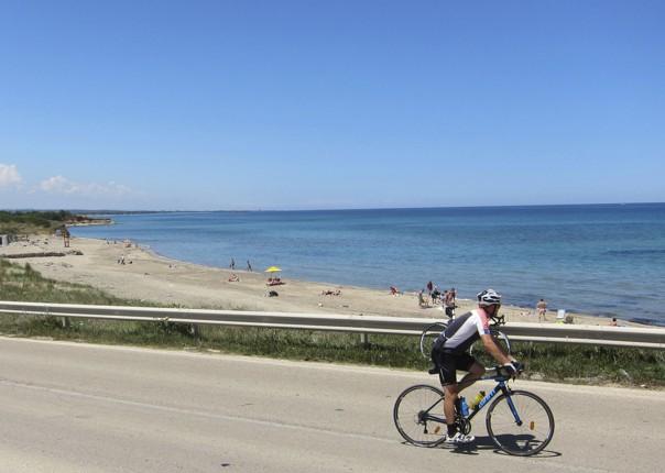 road-cycling-holiday-puglia-coast.jpg - Italy - Puglia - The Heel of Italy - Guided Road Cycling Holiday - Road Cycling