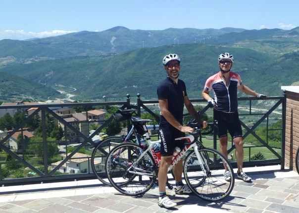 road-cycling-holiday-taly-cyclists.jpg - Italy - Grand Traverse - South to North (22 days) - Guided Road Cycling Holiday - Road Cycling