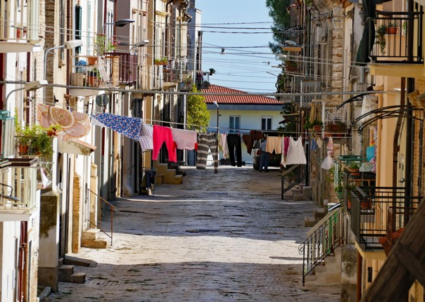 Back street in SerracapriolaV3 - Day11.jpg - Italy - Grand Traverse - South to North (22 days) - Guided Road Cycling Holiday - Road Cycling